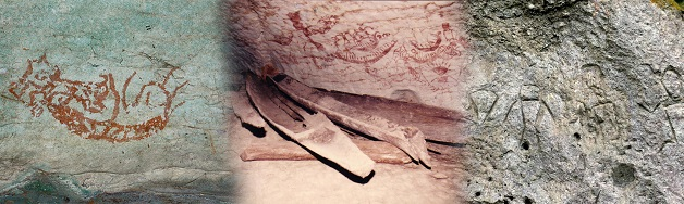Cave Drawings and Artifacts