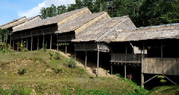 Iban Long House
